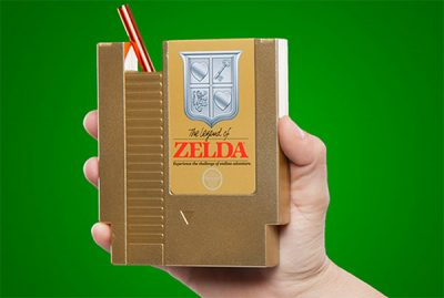 Zelda Cartridge with Straw