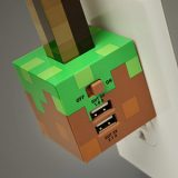 Minecraft USB Charger