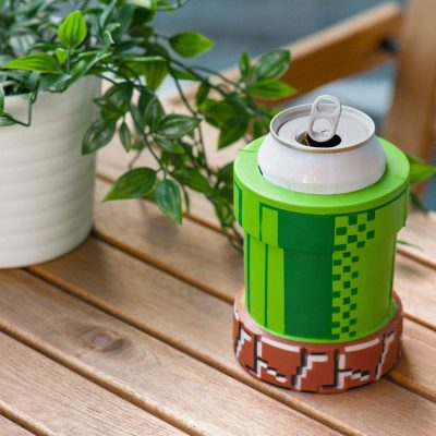 Nintendo Pipe Foam Can Cooler