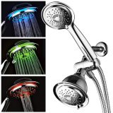 Color Changing High Pressure Shower Head