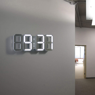 Minimalistic Digital Wall Clock