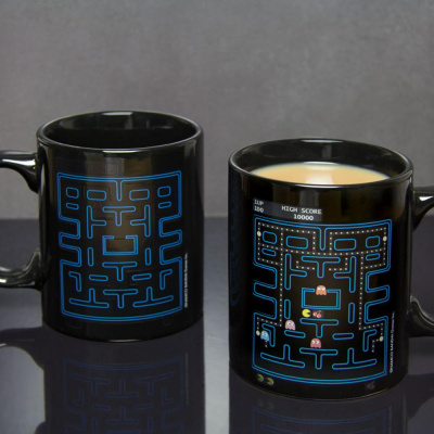 Pac-Man Heat Mug